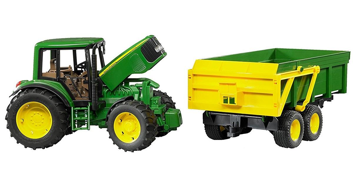 BRUDER 2058 Traktor John Deere 6920 + sklápěcí valník