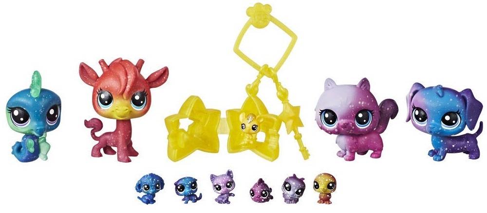 HASBRO Littlest Pet Shop Kosmická zvířátka 10 ks