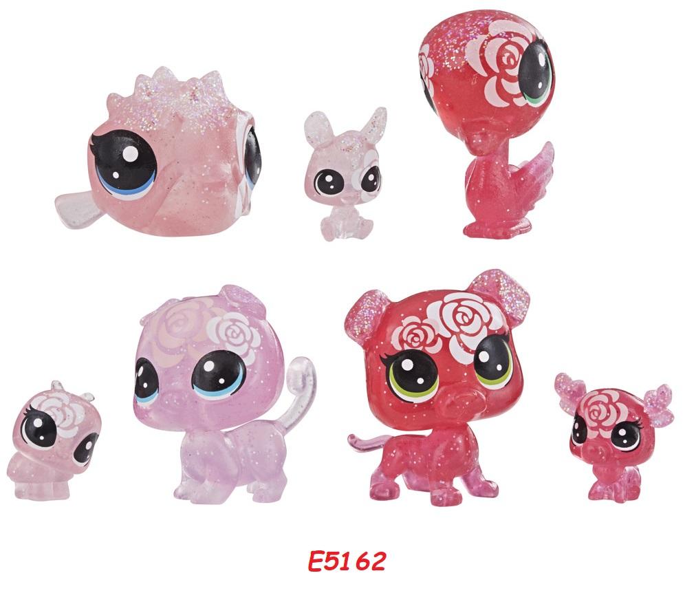 HASBRO Littlest Pet Shop Květinová zvířátka 7ks LPS Zvířátka: E5162