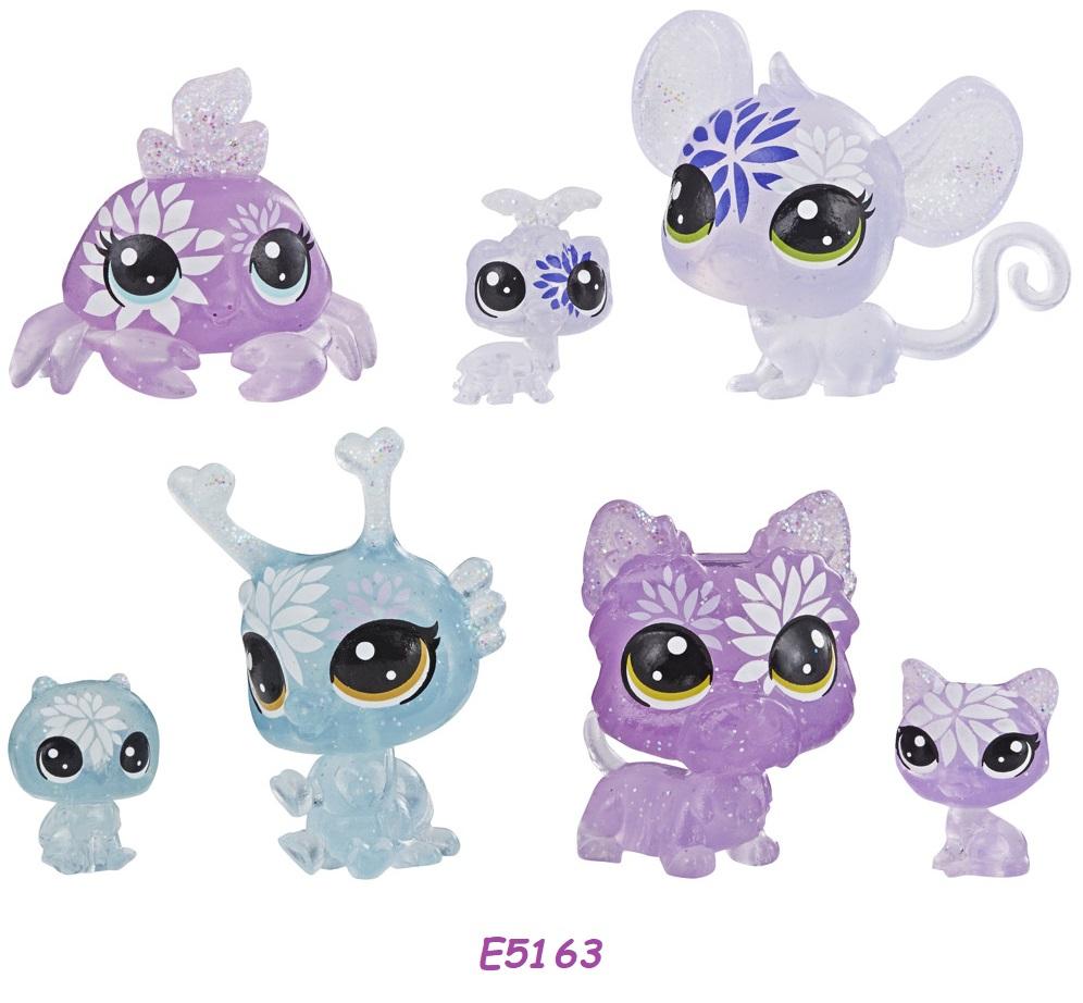 HASBRO Littlest Pet Shop Květinová zvířátka 7ks LPS Zvířátka: E5163