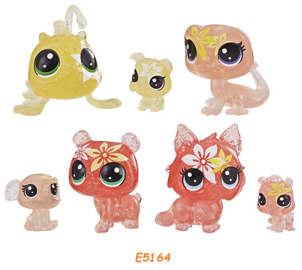 HASBRO Littlest Pet Shop Květinová zvířátka 7ks LPS Zvířátka: E5164