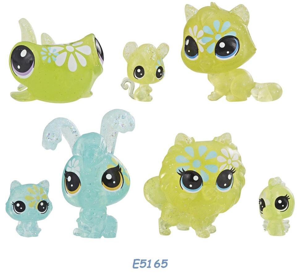 HASBRO Littlest Pet Shop Květinová zvířátka 7ks LPS Zvířátka: E5165