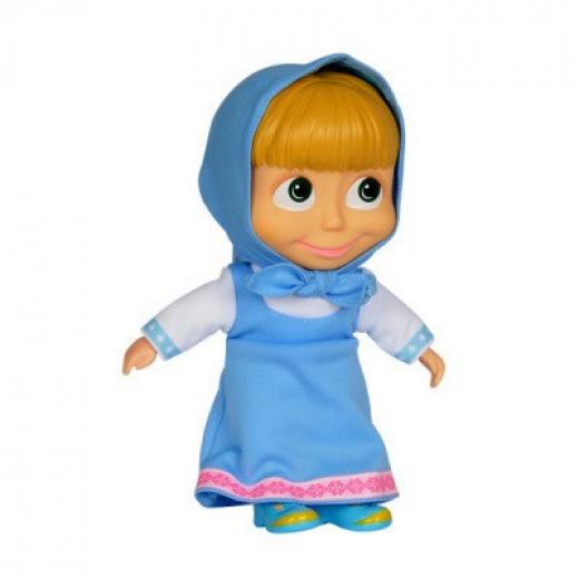 Simba Máša a medvěd Panenka Máša 23 cm, modré šaty