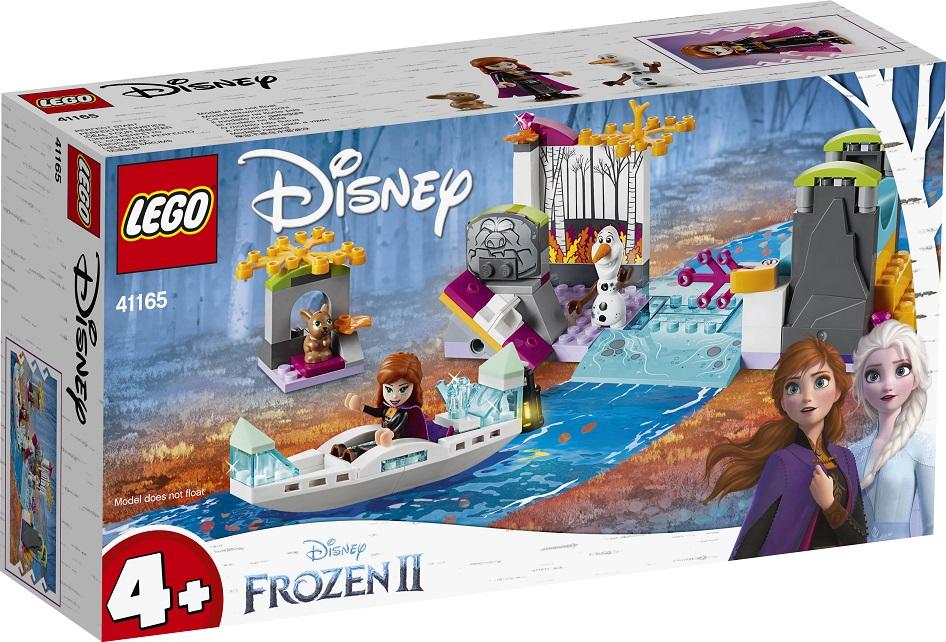LEGO Disney Frozen II 41165 Anna a výprava na kánoi