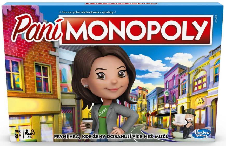 Hasbro Monopoly ženská edice