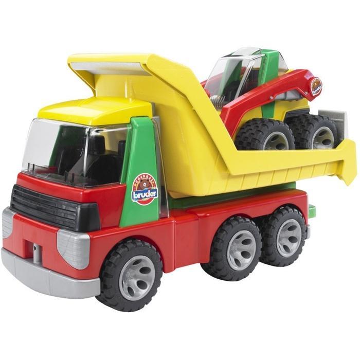 BRUDER 20070 ROADMAX Auto nákladní s nakladačem