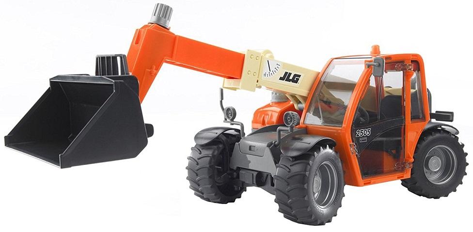 BRUDER 2140 Nakladač JLG 2505 s výsuvným ramenem