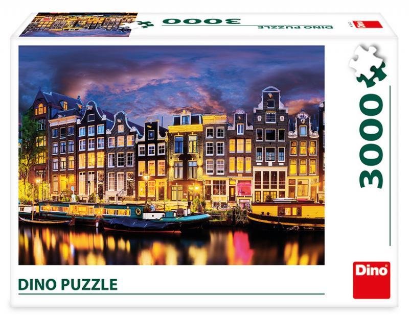 Dino Amsterdam 3000 dílků