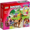 LEGO Juniors 10726 Stephanie a kocar s konikem