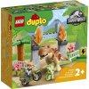 LEGO DUPLO Jurassic World 10939 T-rex a triceratops na útěku