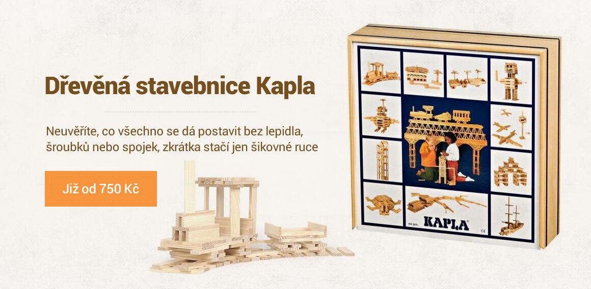 Dřevěná stavebnice Kapla - Kupte