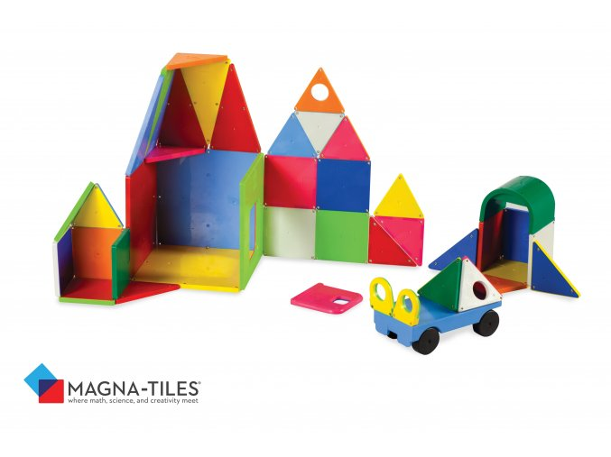 # 02148 Magna Tiles Solid Colors 48 Piece DX Set
