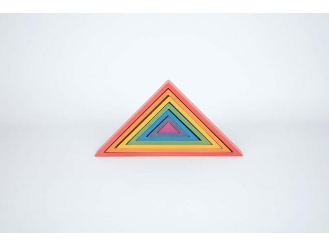 Duha trojúhelníky / Rainbow Architect Triangles
