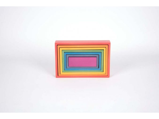 Duha obdélníky / Rainbow Architect Rectangles