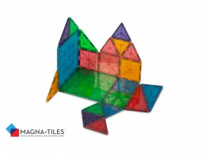 # 02132 Magna Tiles Clear Colors 32 Pice Set