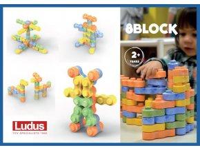 pol pl Ludus 8Blocks 150 el Klocki konstrukcyjne 429 5