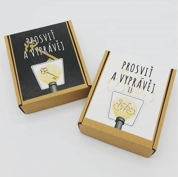 Doprodej prvního vydání vyprávěcích karet Prosviť a vyprávěj