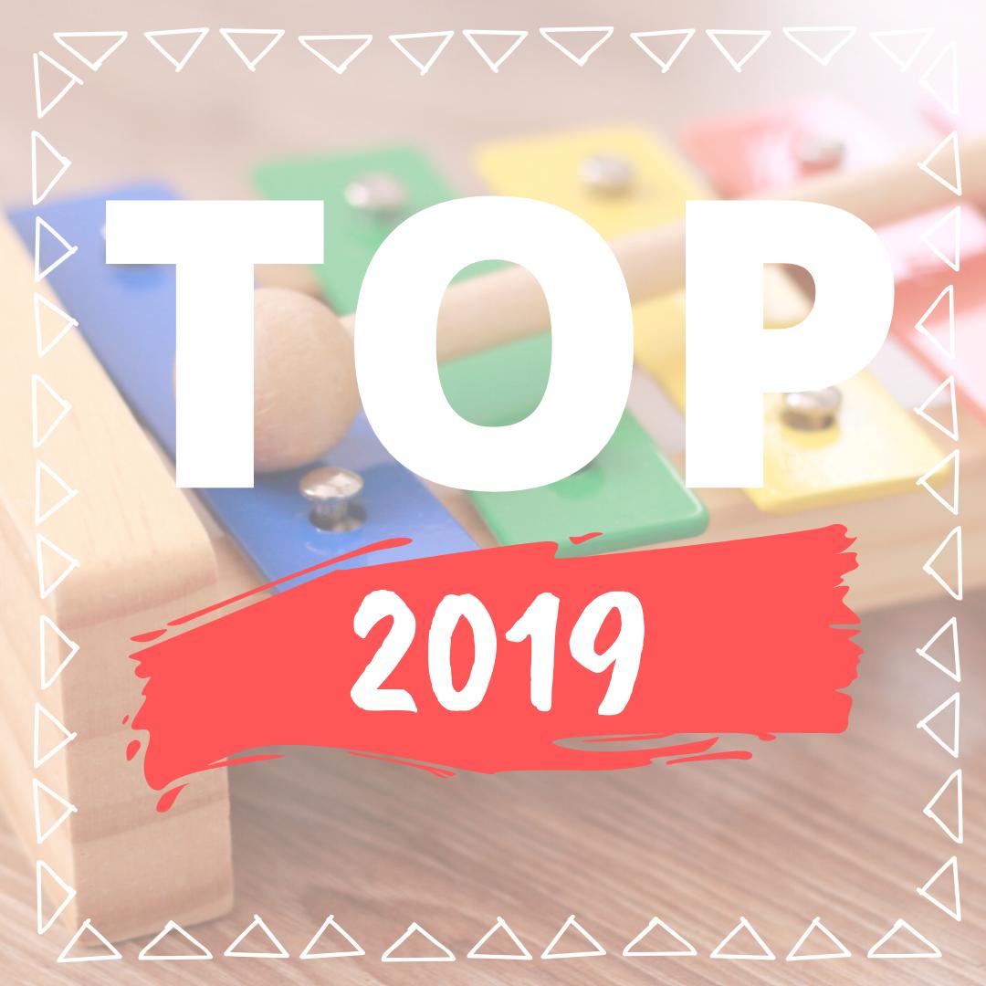 Nejoblíbenější hračky roku 2019