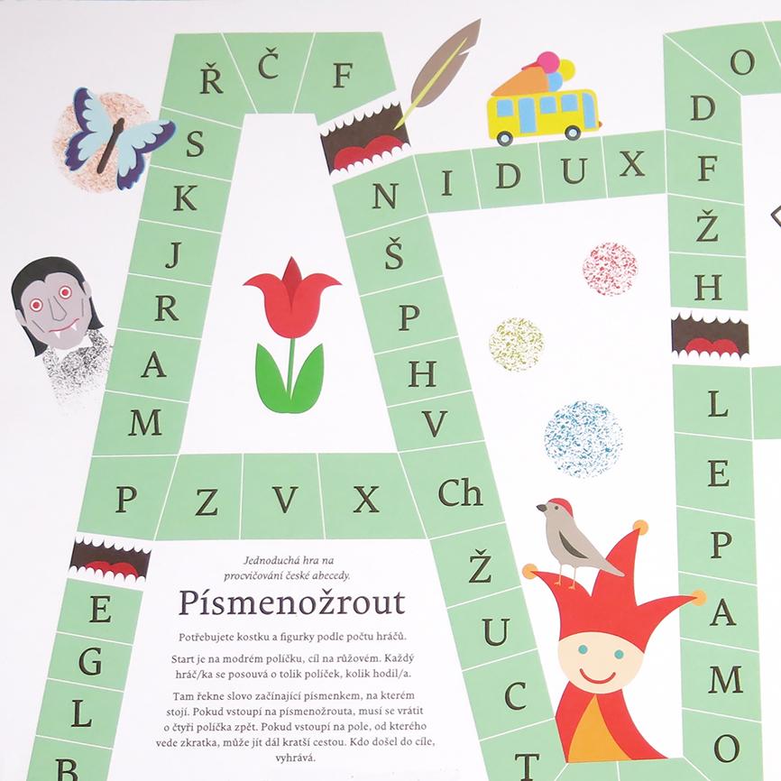 PRAVIDLA: Písmenožrout - hra s českou abecedou od Poketo