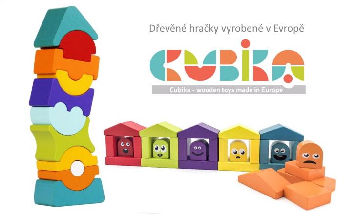 Cubika - nádherné dřevěné hračky