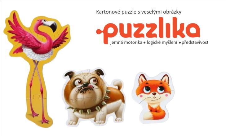 Puzzlika - nové kvalitní kartonové puzzle