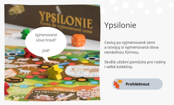 Ypsilonie - hra s vyjmenovanými slovy