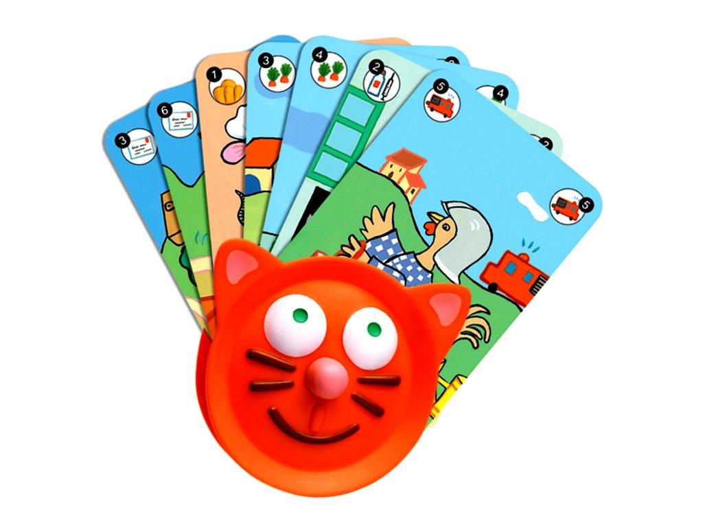 DJ05997 djeco drzacek na karty pro deti 1