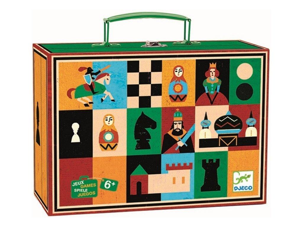 DJ05225 djeco malované šachy