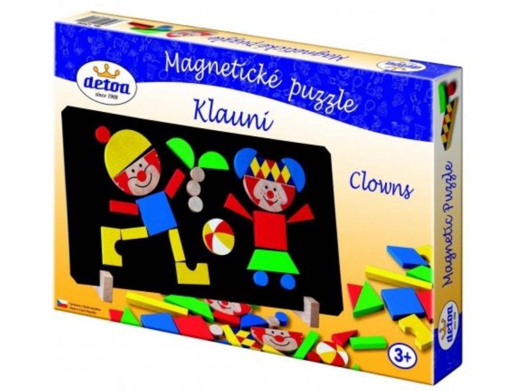 Detoa | Magnetické puzzle Klauni