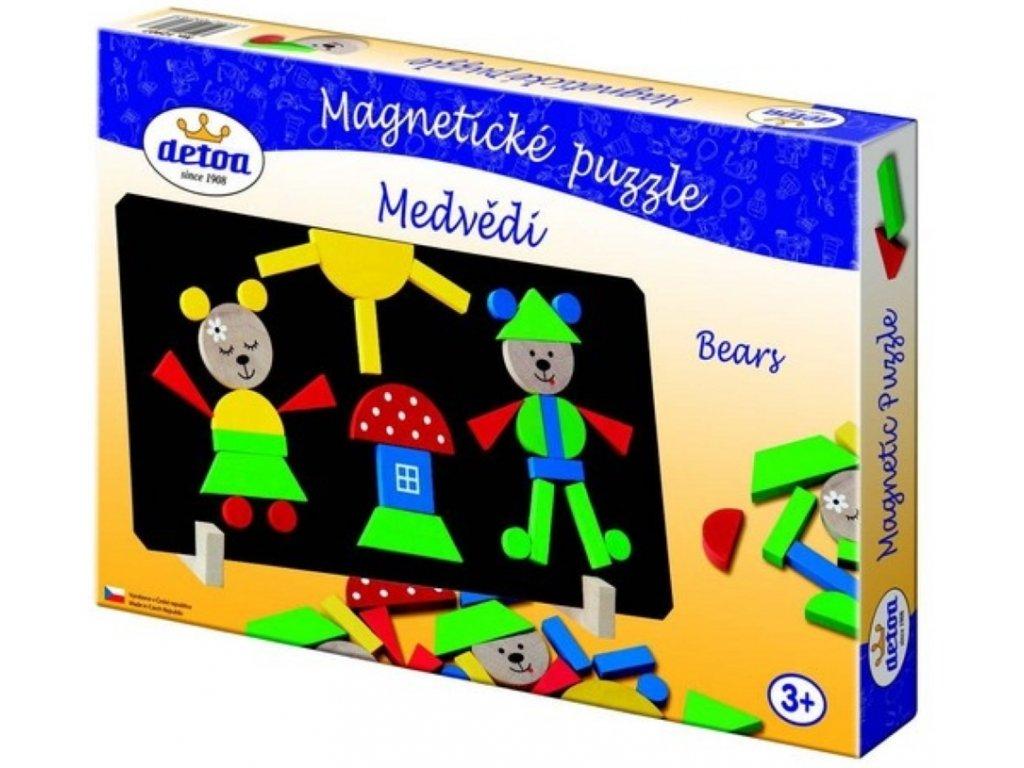 Detoa | Magnetické puzzle Medvědi