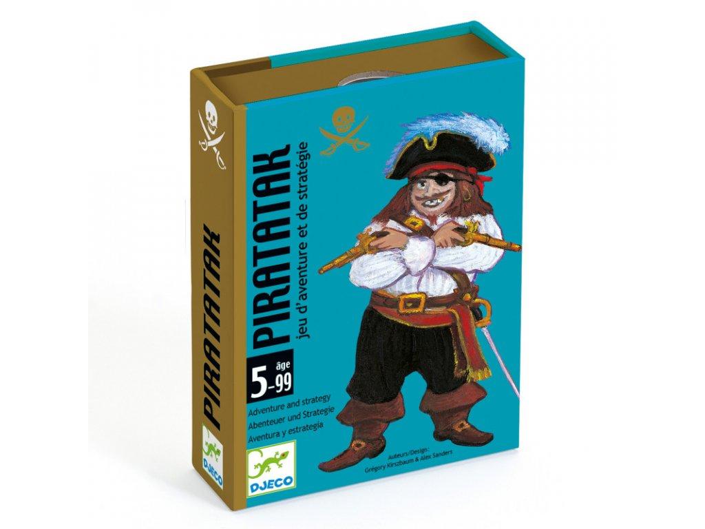 DJ05113 djeco karetní hra útok pirátů