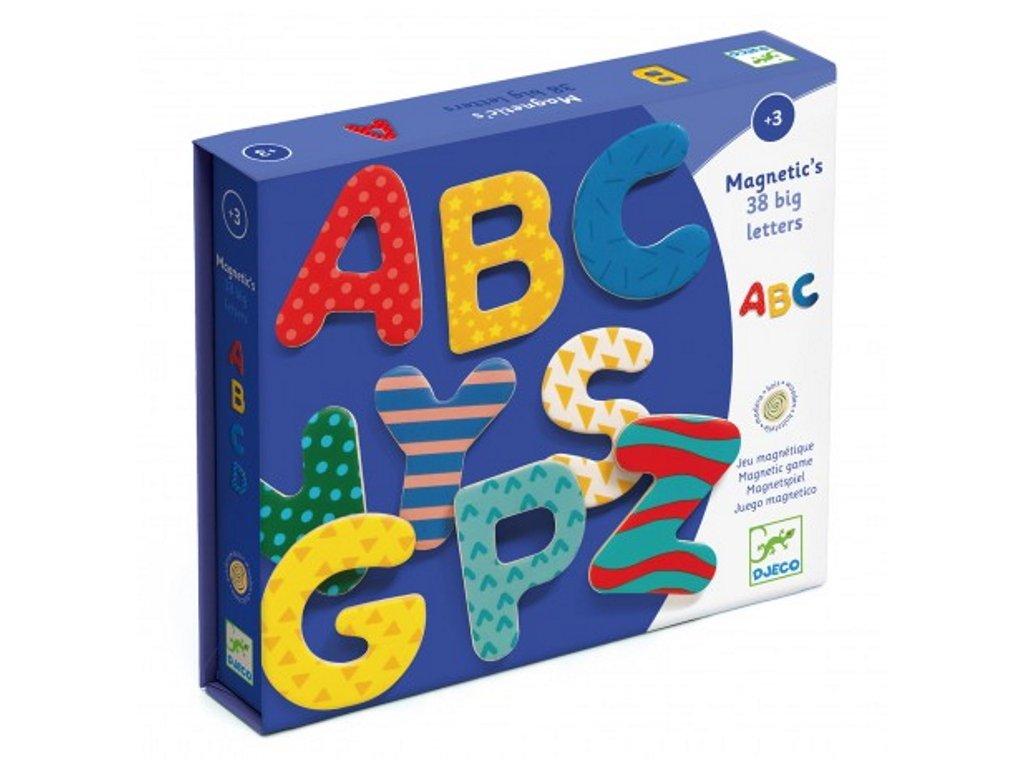 DJ03100 djeco magnetická abeceda