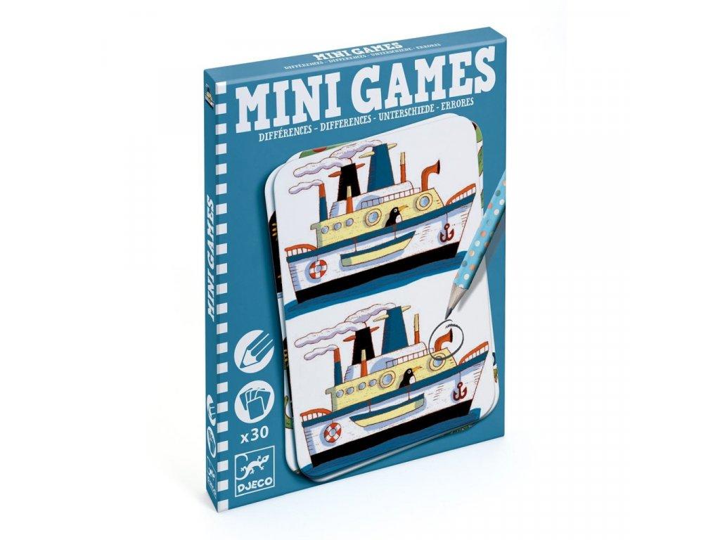 Djeco | Mini hra - Hledej rozdíly s Remim