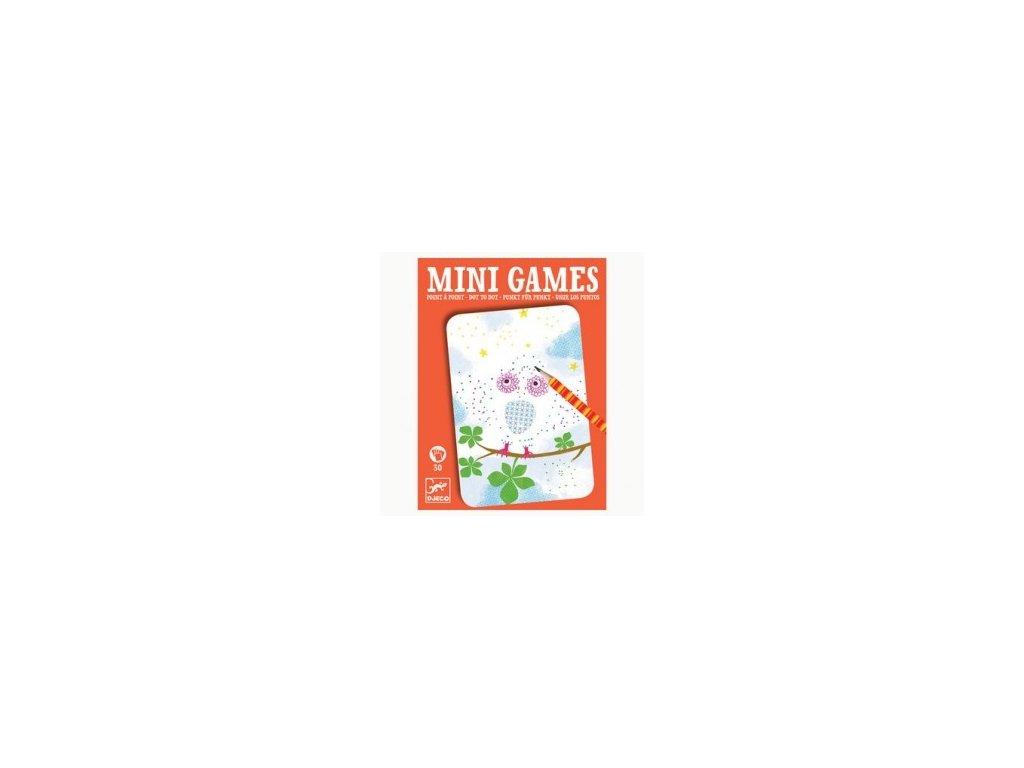 Djeco | Mini hra - Spojování teček s Elisou