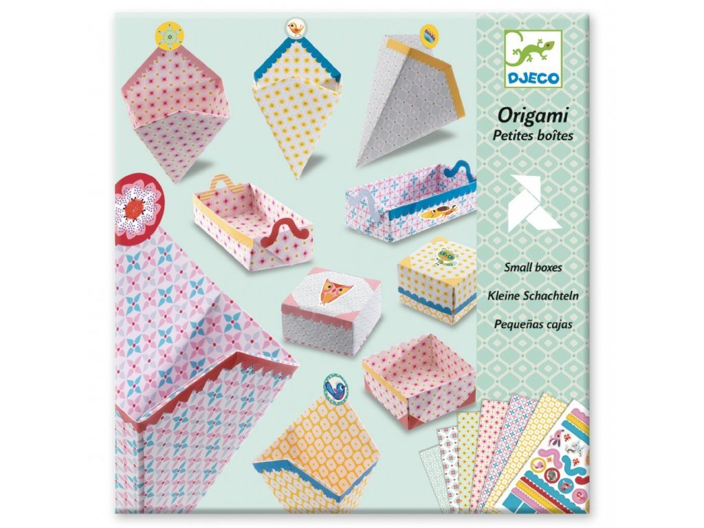 DJ08774 djeco origami skládačka krabičky