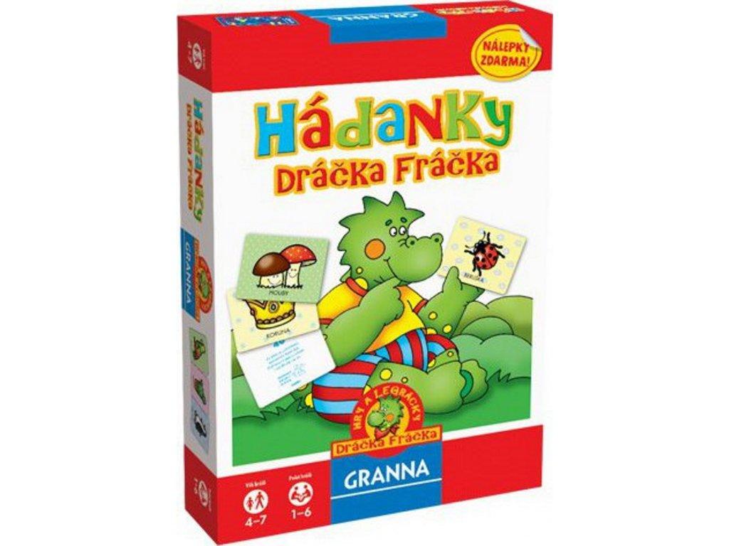 Granna | Hádanky Dráčka Fráčka