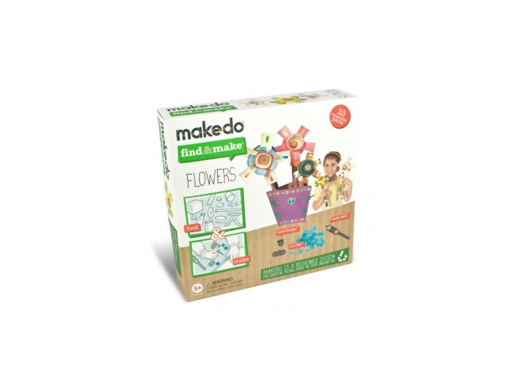 Makedo | Find & Make Květiny
