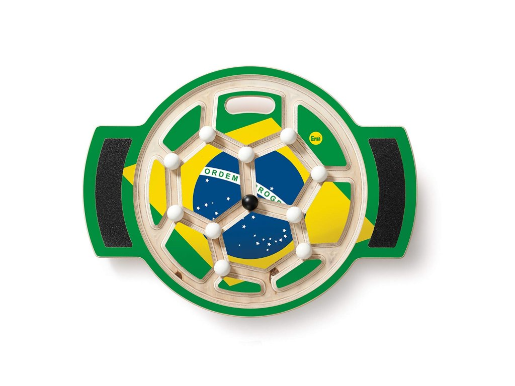 Erzi | Velká balanční deska Fotbal - tým Brazílie