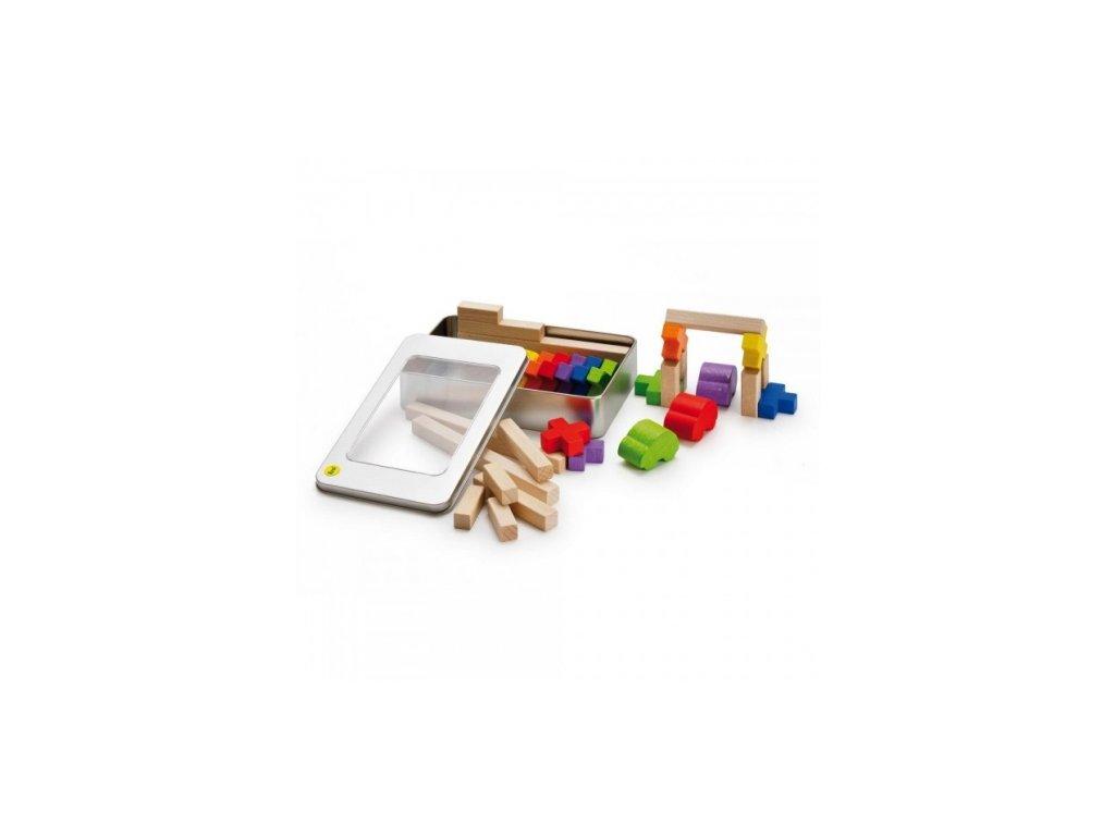 Erzi | Kostky v plechové krabičce Křížky