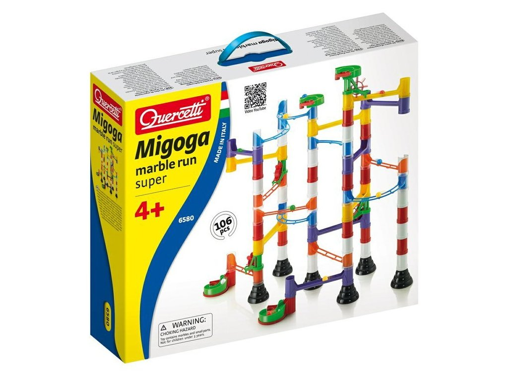 6580 Quercetti Migoga Marble Run Super 1