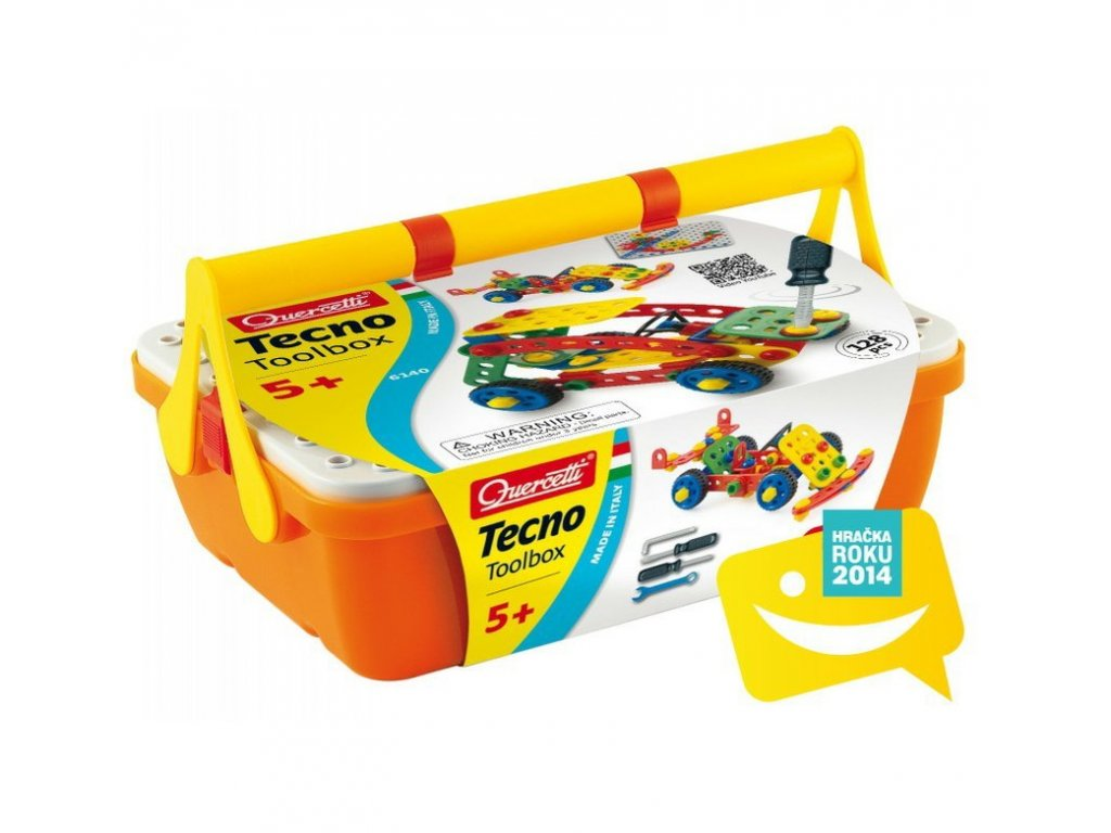 6140 Quercetti Tecno Toolbox 1