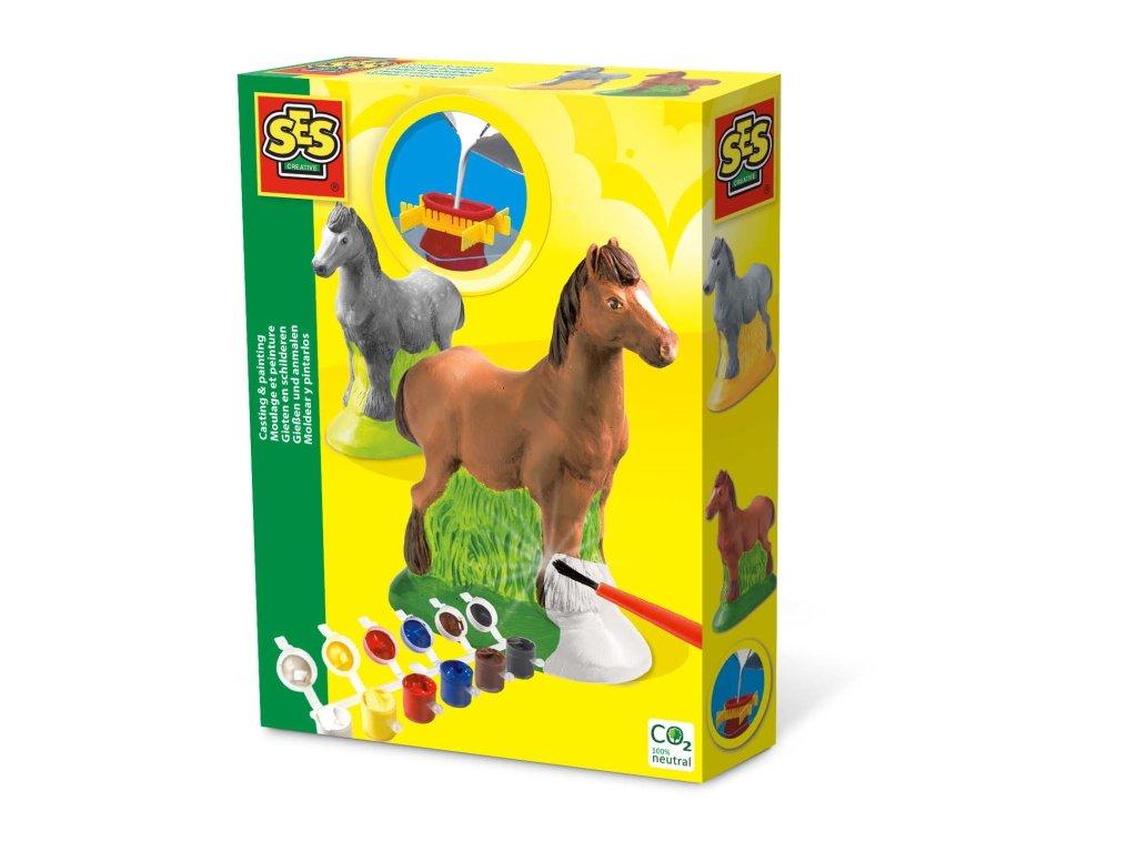 SES | Sádrový komplet Kůň