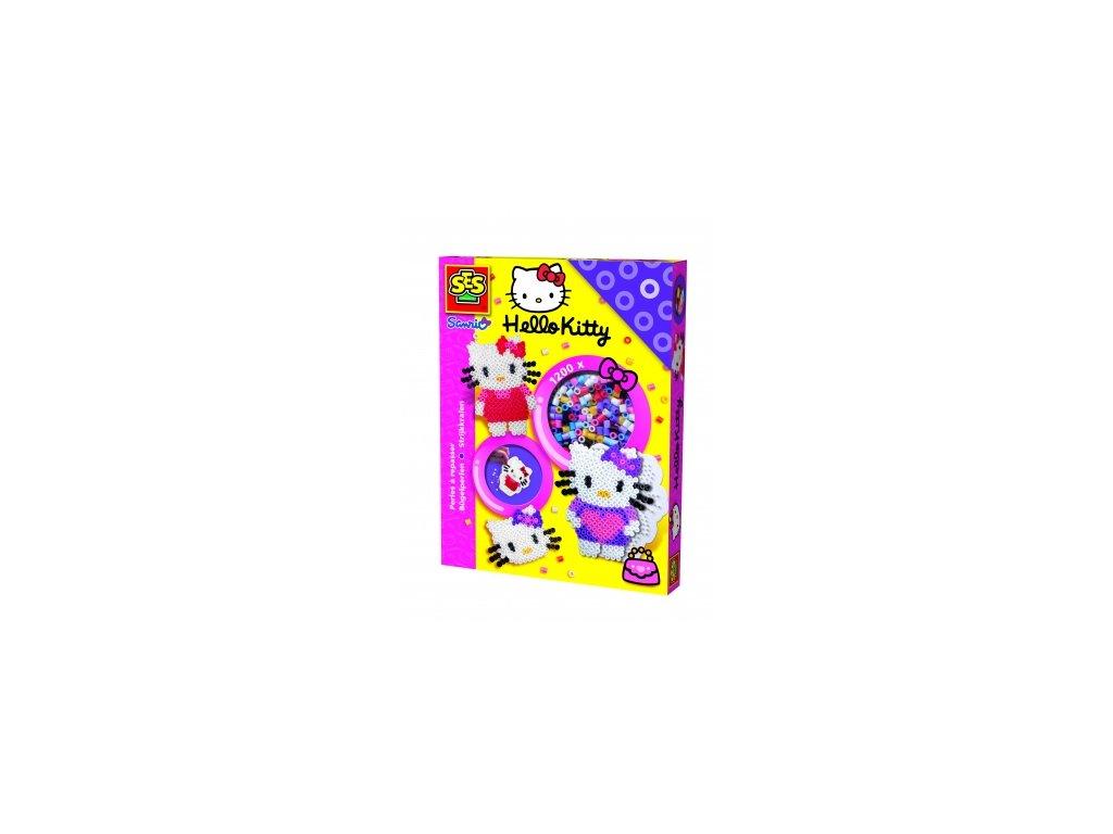 SES | Zažehlovací korálky - sada Hello Kitty 1200ks