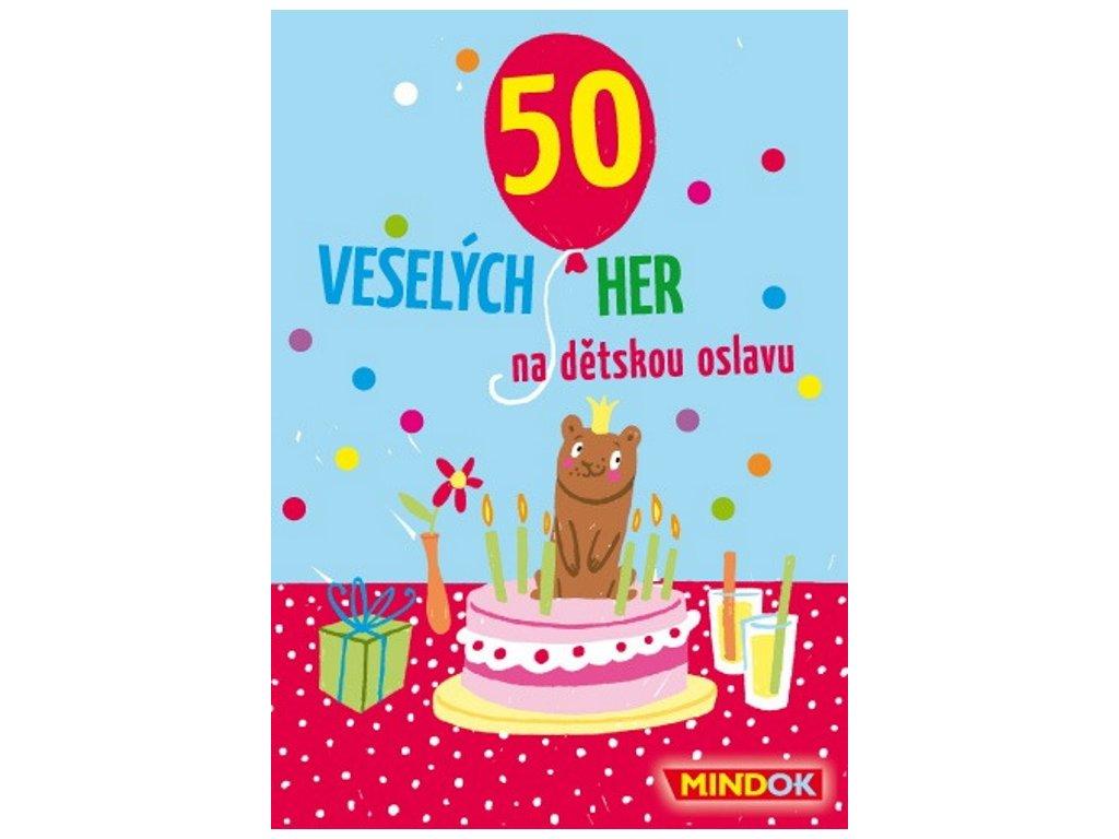 Mindok | 50 veselých her na dětskou oslavu