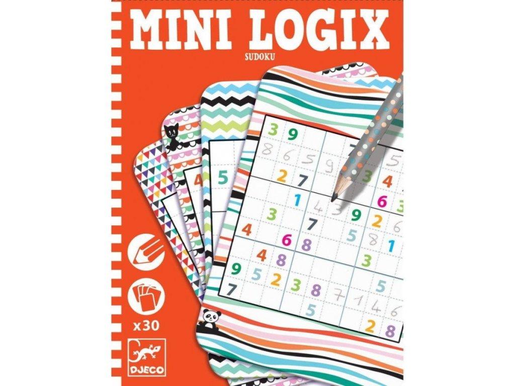 DJ05350 djeco mini logix sudoku