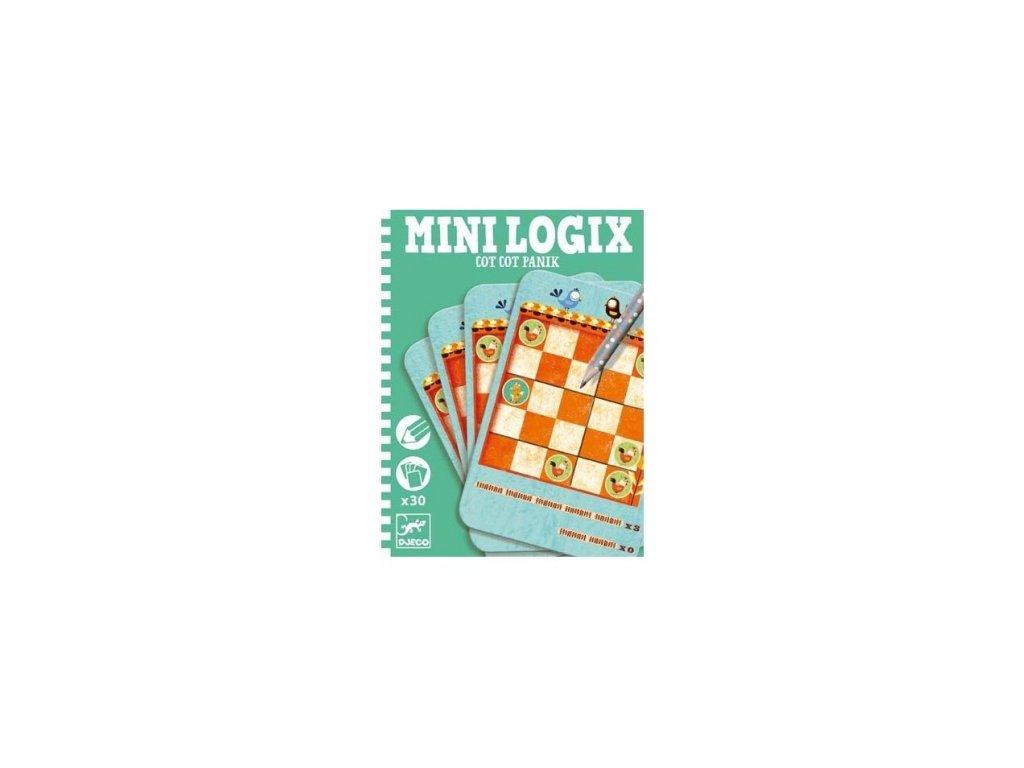 Djeco | Mini logix - Slepice panikaří