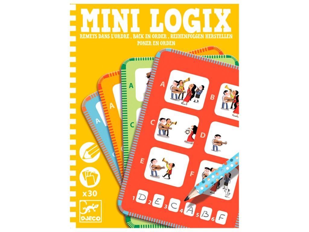 DJ05354 djeco mini logix zpátky