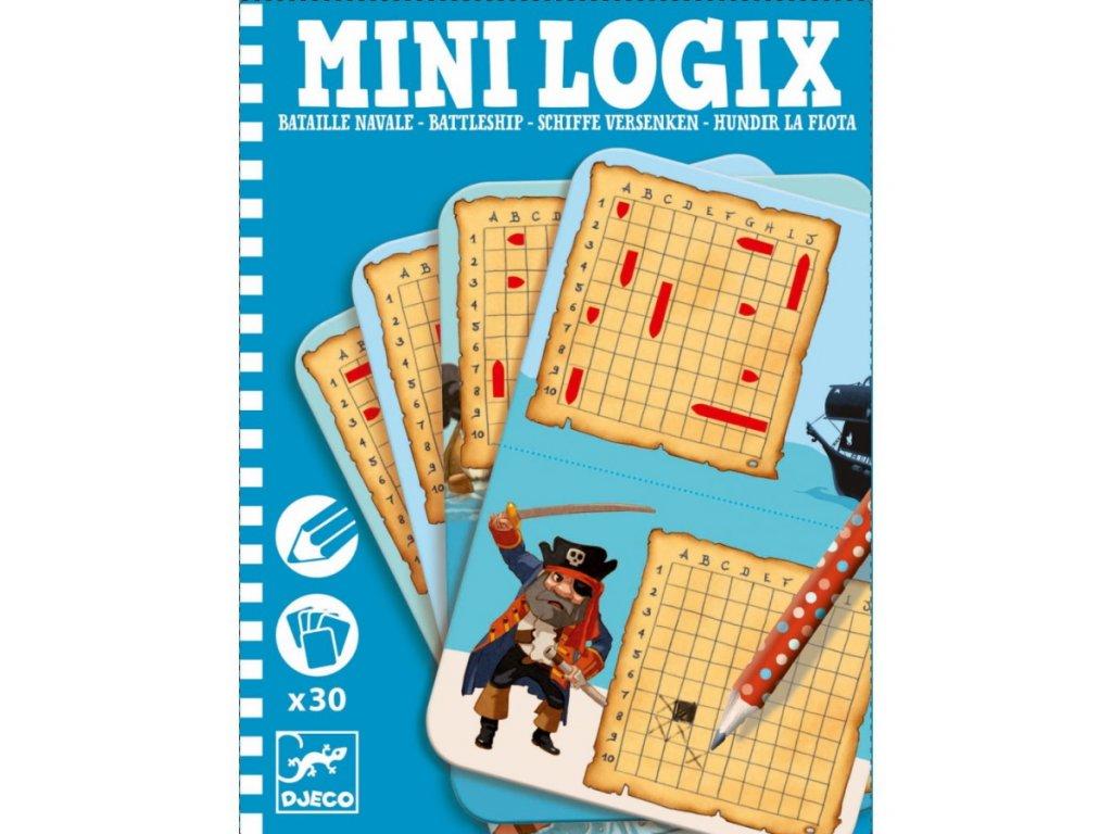 DJ05355 djeco mini logix námořní bitva