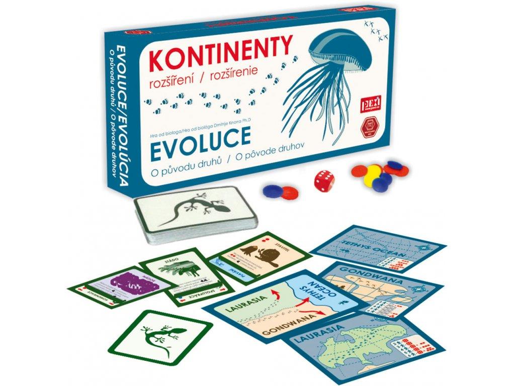 Evoluce: Kontinenty (rozšíření)