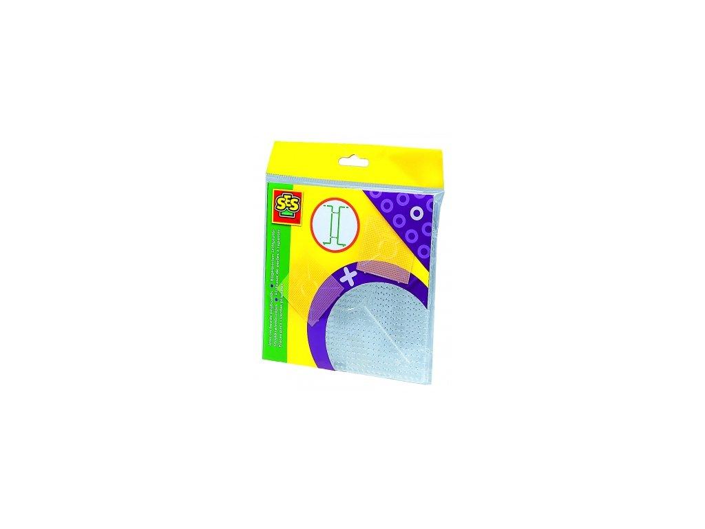 SES | Zažehlovací podložky na korálky - 2ks čtverec (spojovací)